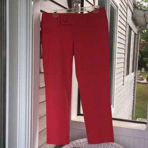 Lilly Pulitzer Luxury Twill Hipster Capris Size 6